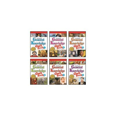Children's General Knowledge Quiz Book Set(Set Of 6 Books)