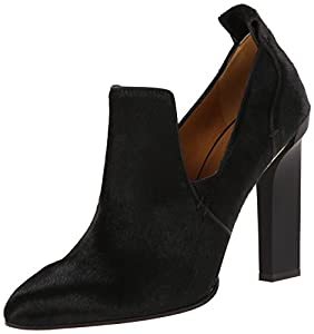 Calvin Klein Collection Women's Rea Bis Dress Pump,Black/Black,38 EU/7.5 M US