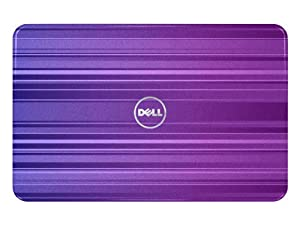 Dell 318-0940 Switch by Design Studio lid for 15-Inch Inspiron R Series Laptop (Horizontal Purple)