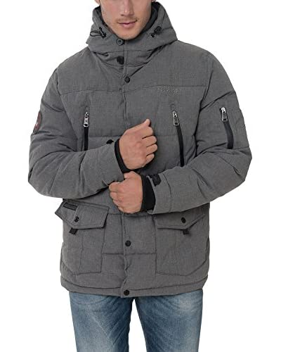 GEOGRAPHICAL NORWAY Steppjacke Amarily grau