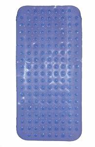 Baby Best Buys - Alfombrilla antideslizante para baño, 79 x 39cm, color azul
