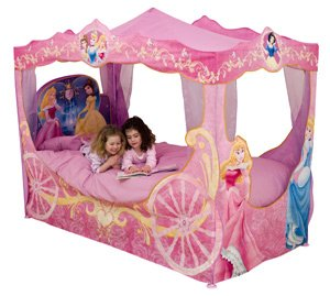 Disney Princess Carriage Bed Canopy: Amazon.co.uk: Toys ...