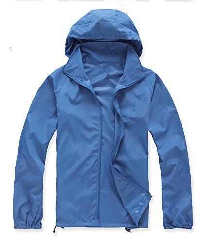 B.BANG Unisex Lightweight Jacket UV Protect+Quick Dry Windproof Skin Coat