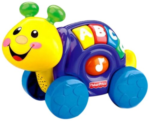 Fisher Price: Roll-Along Pals Snail front-108024
