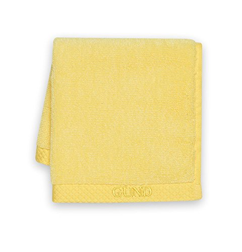 GUND Melange Face Towel, Lemon, 12'' By 12''