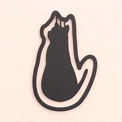 プチクリ 後ろ向き猫黒(PC014)10個入り