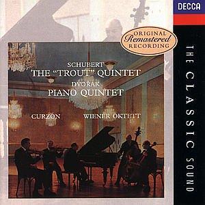 Schubert: Trout Quintet / Dvorak: Piano Quintet