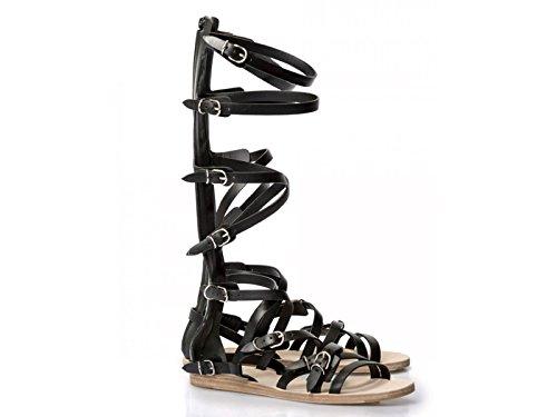 sandales-plates-balenciaga-femme-en-cuir-veau-noir-code-modele-410931-wasc0-1000-taille-38-it-38-eu