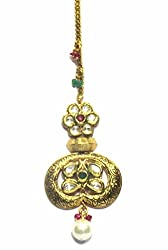 Jewelshingar Jewellery Exclusive Maangtikka For Women ( 24752-maangtikka-kundan )