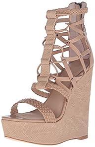 L.A.M.B. Women's Omega Wedge Sandal
