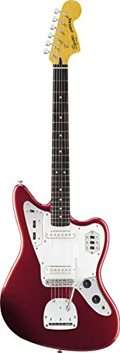 Squier Vintage Modified Jaguar Electric Guitar, Rosewood Fingerboard, Candy Apple Red