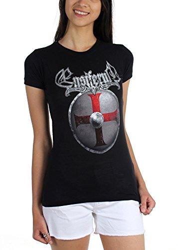 Ensiferum-Shield-Maglietta da donna nero Small