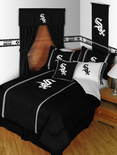 Mlb Chicago White Sox Bed In A Bag - Twin-Single Size front-890556