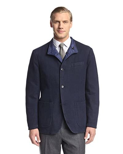 Canali Men's Reversible Five Button Jacket