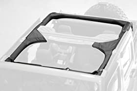 Rugged Ridge 13613.01 Black Polyester Roll Bar Cover