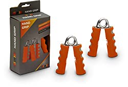 Burn Foam Hand Grip (Orange/Grey)