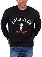 POLO CLUB CAPTAIN HORSE ACADEM Sudadera Rigby 1927 (Negro)