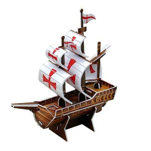 Jigsaw 3D Puzzle Transportation Series - Santa Maria (Small)