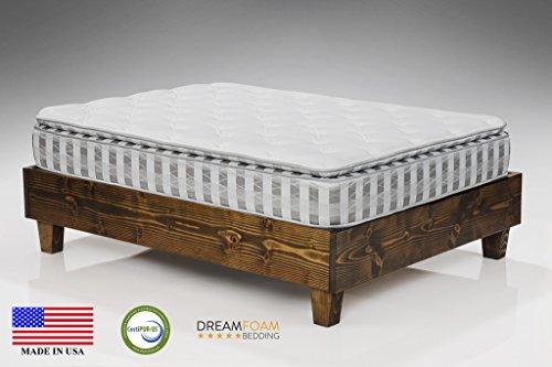 Dreamfoam Bedding Ultimate Dreams Crazy Quilt Pillow Top Mattress, Short Queen (Rv Pillow Top Mattress compare prices)