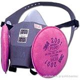 半面形取替え式防塵マスク 6000DDSR/2091-RL3(S) 6000DDSR/2091-RL3S