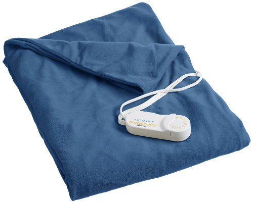 Biddeford Blankets 4440-907484-500 Heated Throw, Denim front-1054813