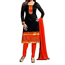 Shree Hari Creation Women's Poly Cotton Unstitched Dress Material (3835_Multi-Coloured_Free Size)