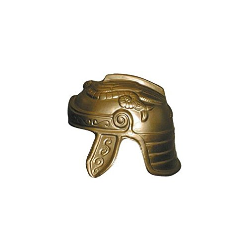 Jacobson Hat Company Men's Trojan Helmet, Gold, Adult