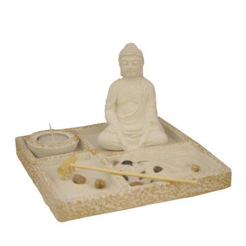 Asian japanese feng shui sand zen garden ebay for Japanese sand garden