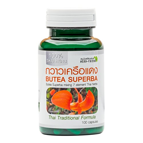 350 mg. X 100 Capsules Butea Superba mélangée