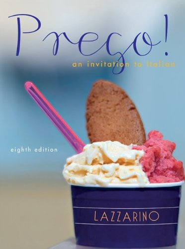 Prego! An Invitation to Italian, 8th Edition