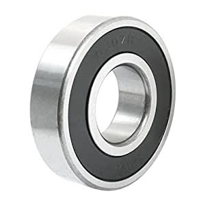 6307-2RS 35mmx80mmx21mm Rubber Sealed Deep Groove Radial Ball Bearing