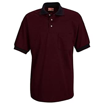 Buy Red Kap SK52 Mens SS Performance Knit Twill Shirt by Red Kap