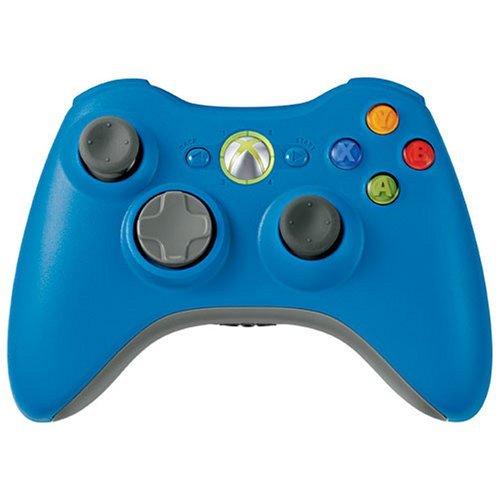 Microsoft Xbox 360 Wireless Controller Blue