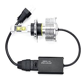 1x 2014 High Power 30W Xenon White H4 9003 HB2 XM-L2 CREE LED Hi/Lo Motorcycle Headlight Bulb