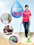 H2O Mop X5 Dampfreiniger grün Dampfreiniger