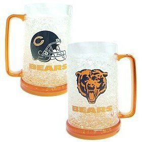 Chicago Bears NFL Crystal Freezer Mug