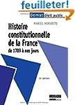 Histoire constitutionnelle de la Fran...