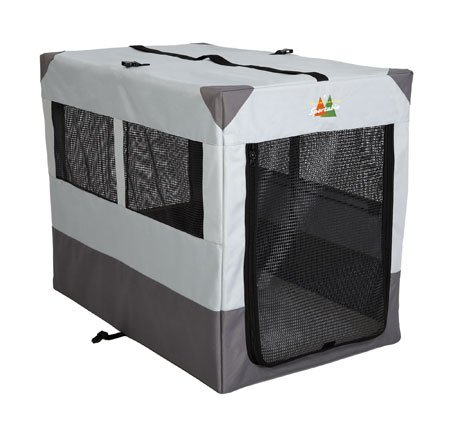 Canine Camper Sportable Gray 42 x 26 x 32 by Midwest