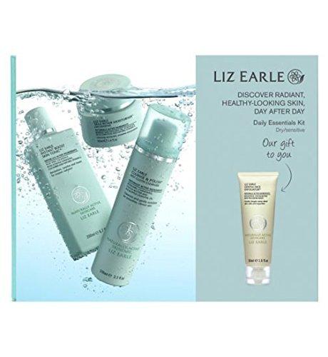 liz-earle-daily-essentials-kit-for-dry-sensitive-skin-with-bonus-gentle-face-exfoliator-50ml