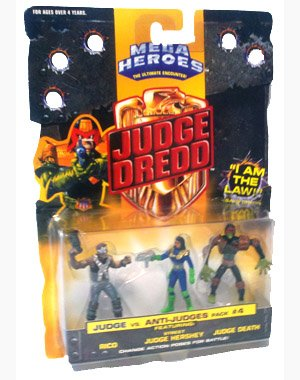 Judge Dredd Mini Figures #4