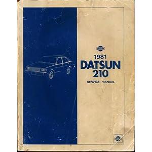 nissan datsun 120y 210 series workshop manual