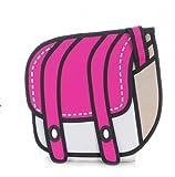 oMyBigDeal Rose candy color Funny cartoon bag hot 3D stereo effect shoulder bag Messenger bag