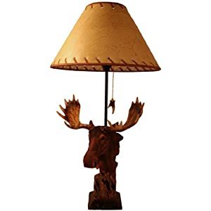 Exceptionnel Wildlife Table Lamps On Amazon Com Wildlife Creations 26 Moose Table Lamp  Home Improvement