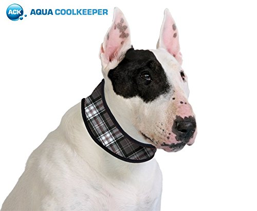 Bild von: Aqua Coolkeeper Cooling Halsband, Scottish Grey, L