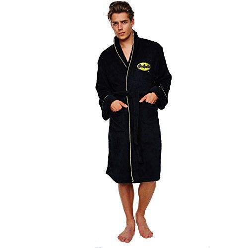 Batman Fleece Bath Robe Dressing Gown by DC Comics