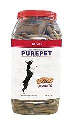 Purepet Real Chicken Biscuit, 1 kg (Chicken)