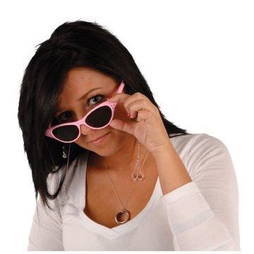 Jeweled Crystal Teardrop Sunglasses