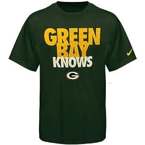 Nike Green Bay Packers Green Bay Knows Draft T-Shirt - Green by Nike