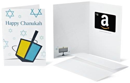 Amazon.com Gift Card with Greeting Card - $10 (Chanukah)