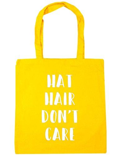 hippowarehouse-hat-hair-dont-care-tote-shopping-gym-beach-bag-42cm-x38cm-10-litres